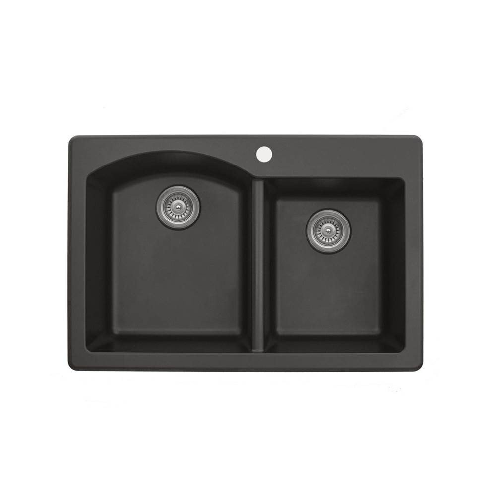 Karran Drop In Kitchen Sinks item QT610BR