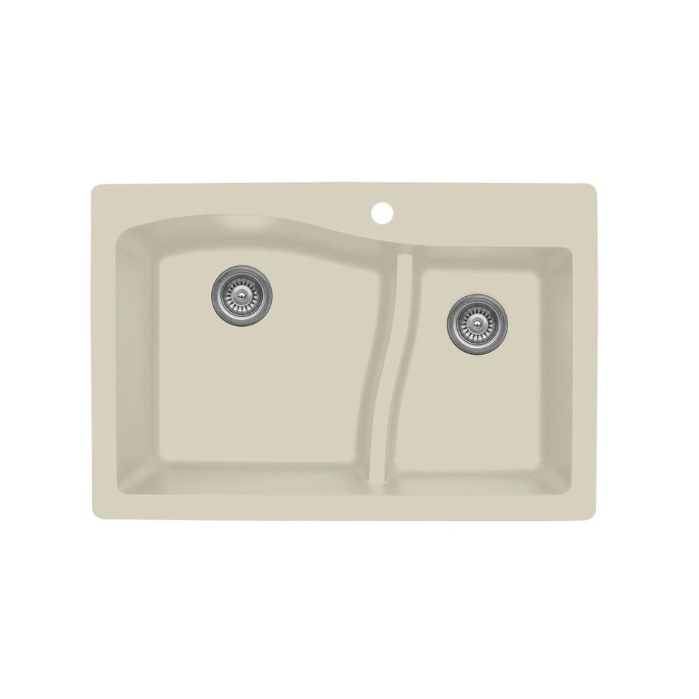 Karran Drop In Kitchen Sinks item QT630BI