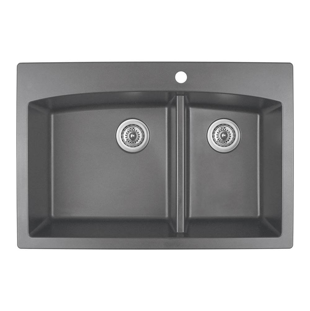 Karran Drop In Kitchen Sinks item QT711GR