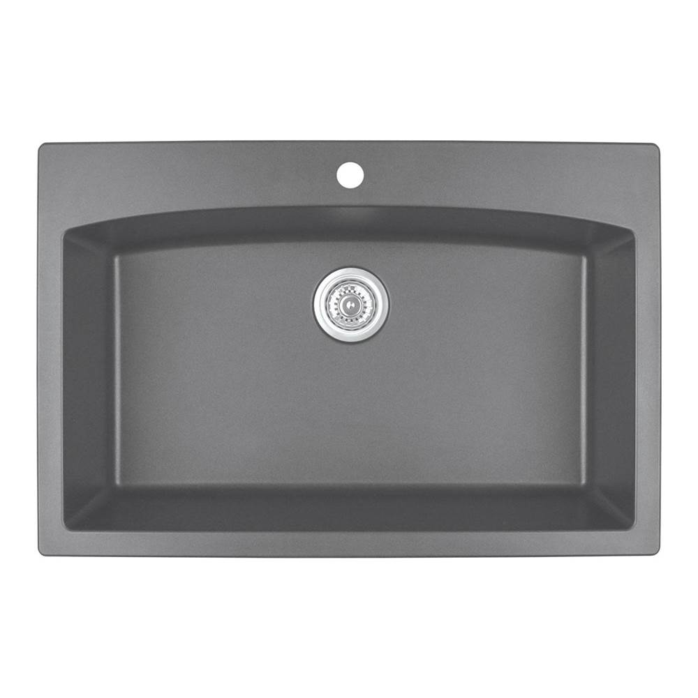 Karran Drop In Kitchen Sinks item QT712GR