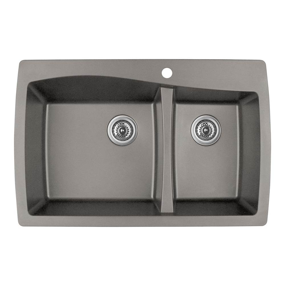 Karran Drop In Kitchen Sinks item QT721CN