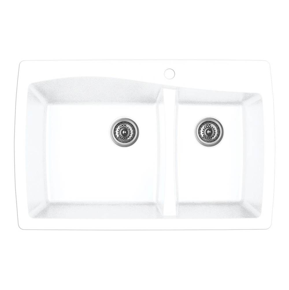 Karran Drop In Kitchen Sinks item QT721WH