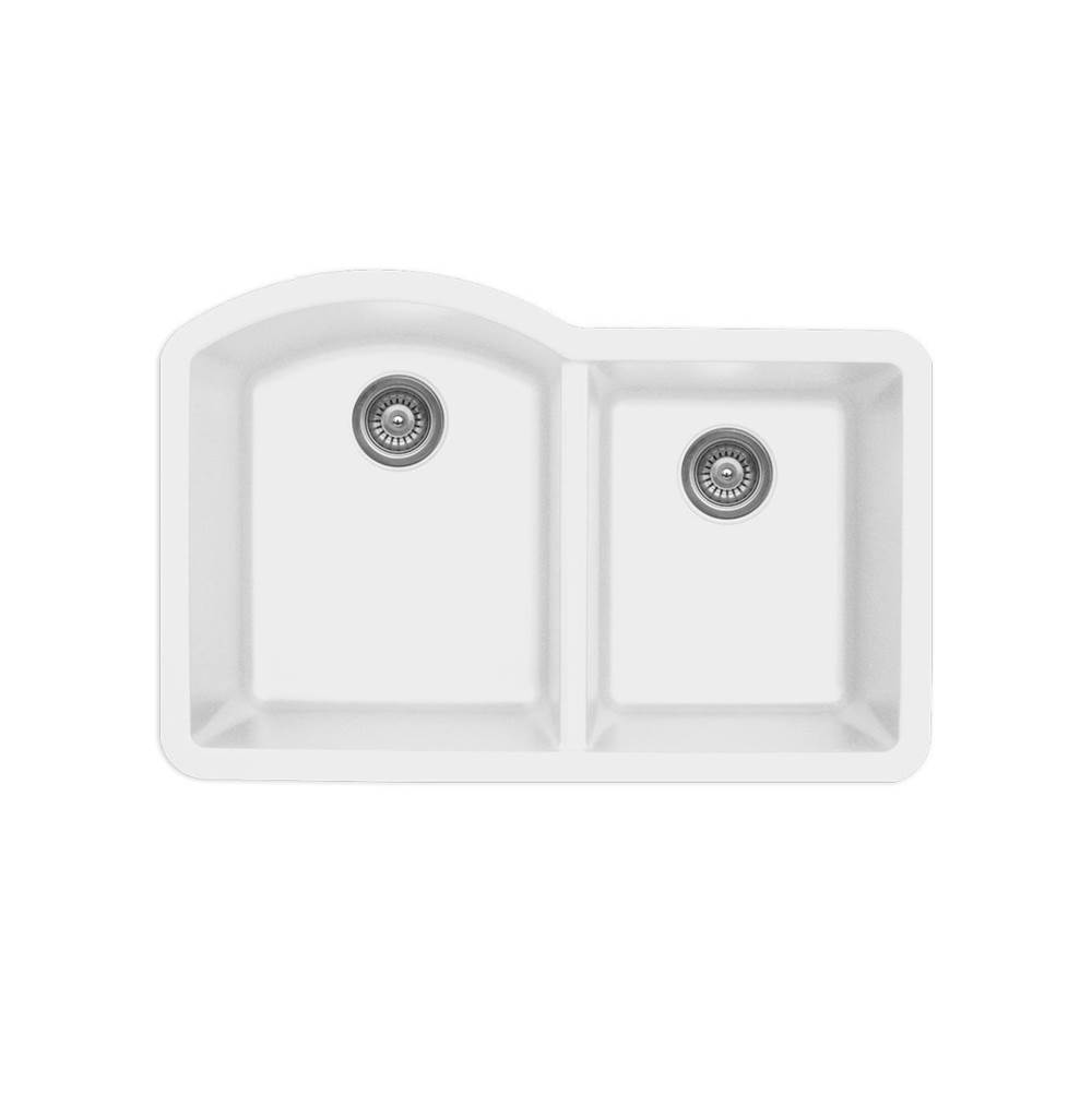Karran Undermount Kitchen Sinks item QU610WH