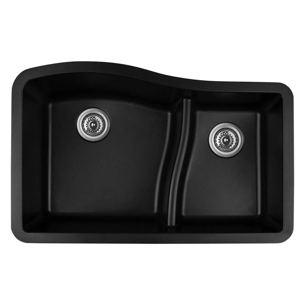 Karran Undermount Kitchen Sinks item QU630BL