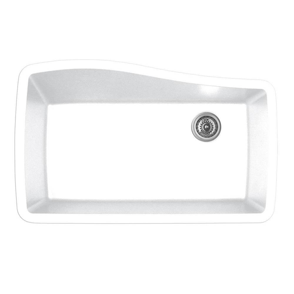 Karran Undermount Kitchen Sinks item QU722WH