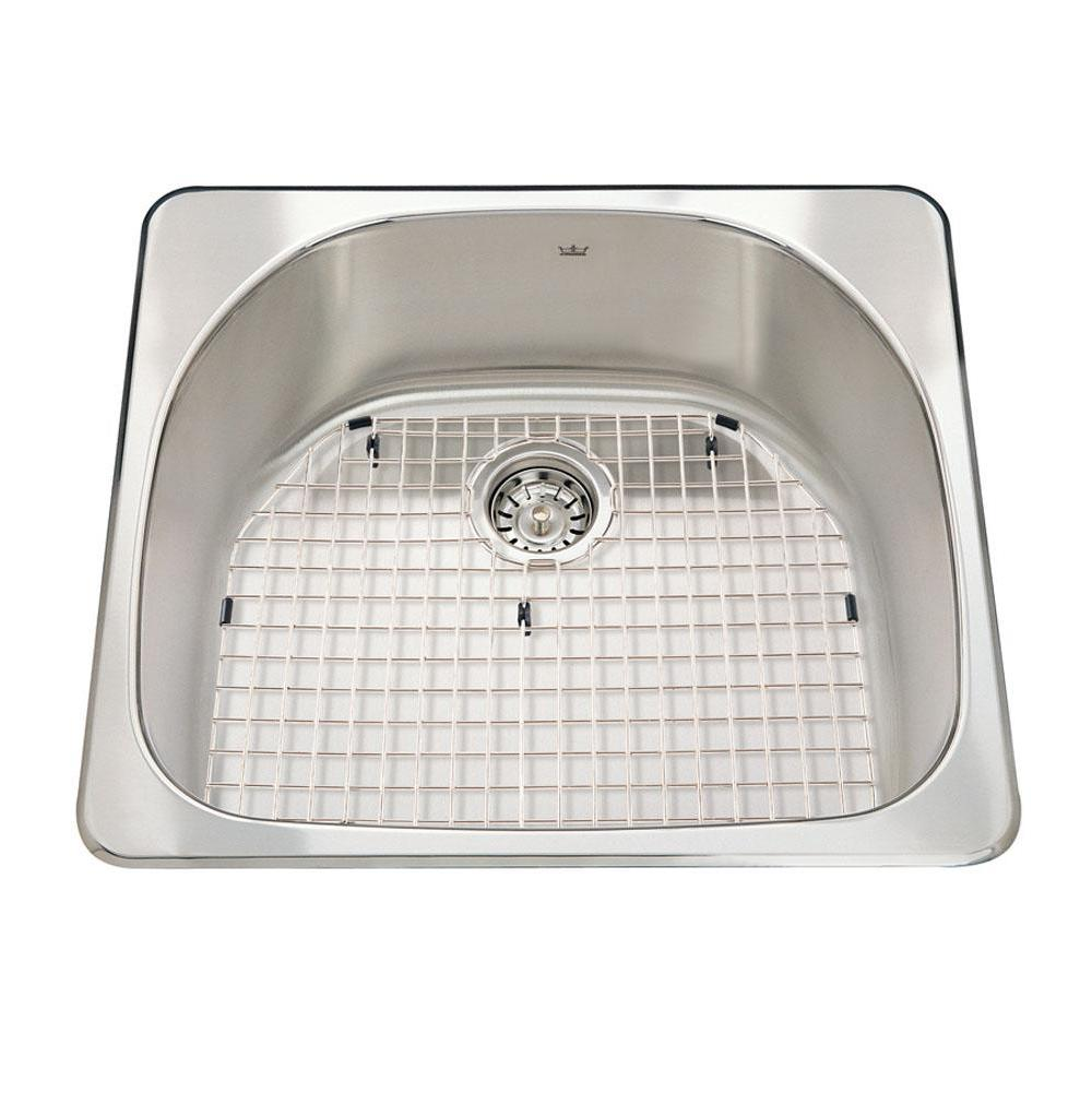 Kindred Canada Drop In Kitchen Sinks item CSX2123/8S/1L