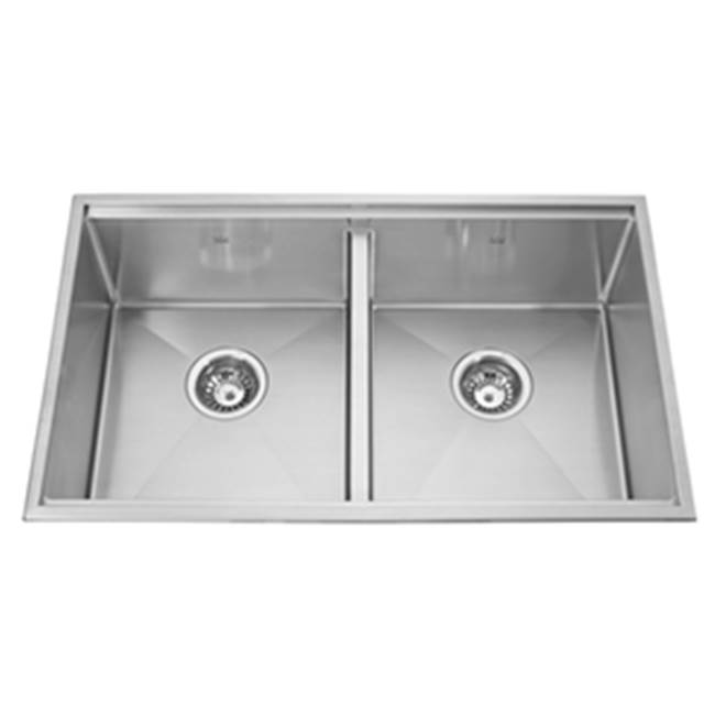 Kindred Canada Drop In Kitchen Sinks item KCD33/9-10A