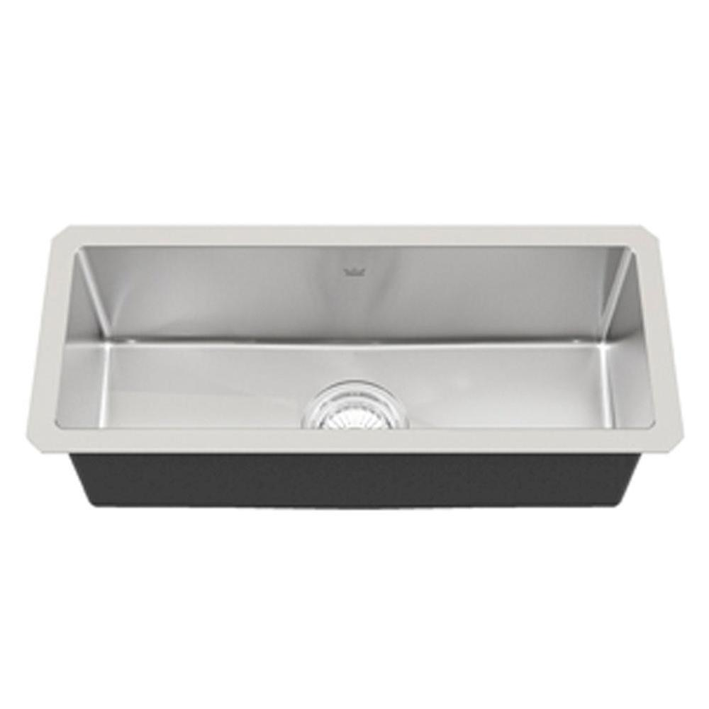 Kindred Canada Undermount Kitchen Sinks item KCUS22A/8-10BG