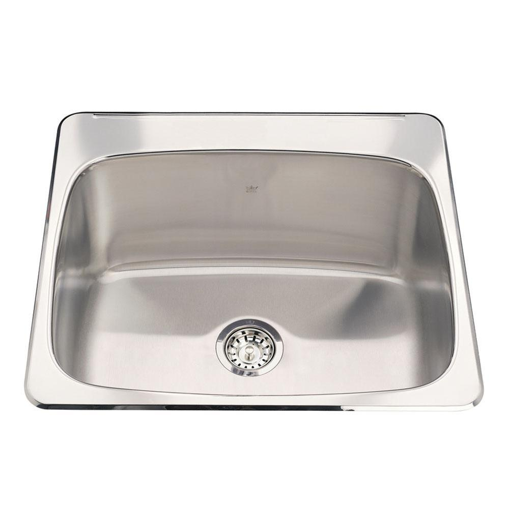 Kindred Canada Drop In Kitchen Sinks item QSL2225/10-3