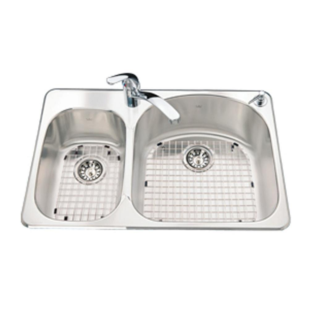 Kindred Canada Drop In Kitchen Sinks item CDC2031L/8S/1