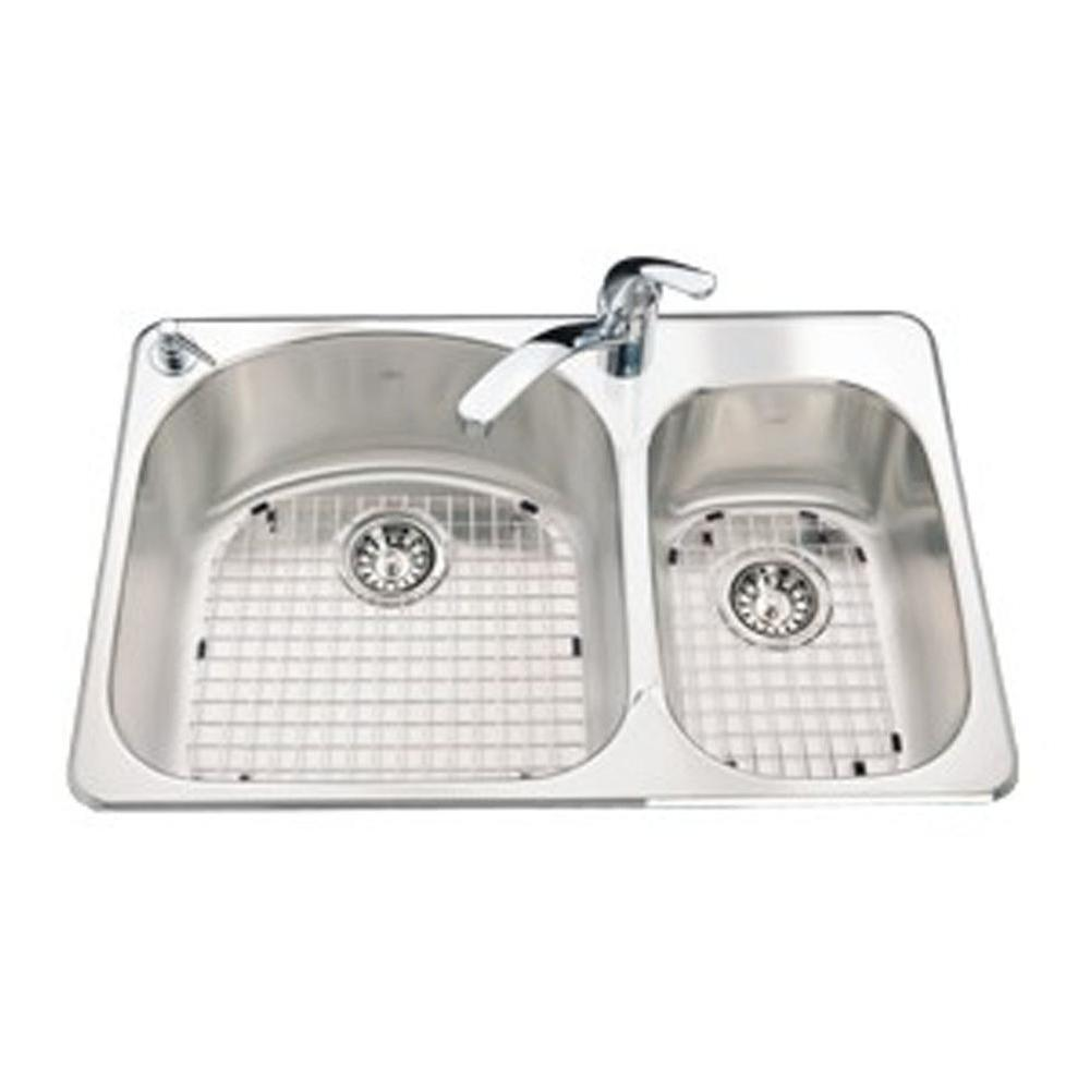 Kindred Canada Drop In Kitchen Sinks item CDC2031R/8S/1