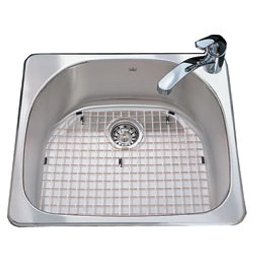 Kindred Canada Drop In Kitchen Sinks item CSX2123/8S/1R