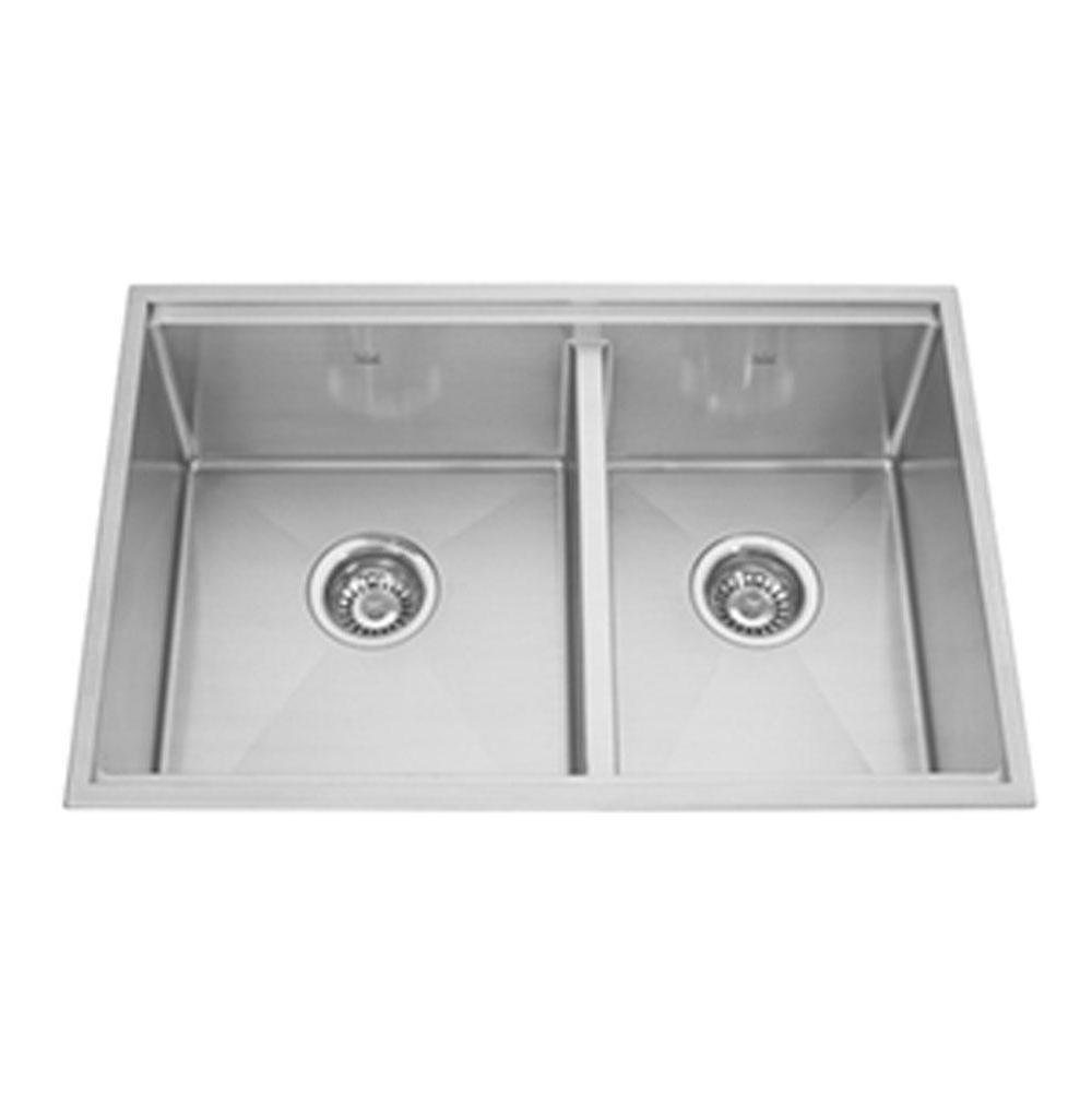 Kindred Canada Undermount Kitchen Sinks item KCC30R/9-10A