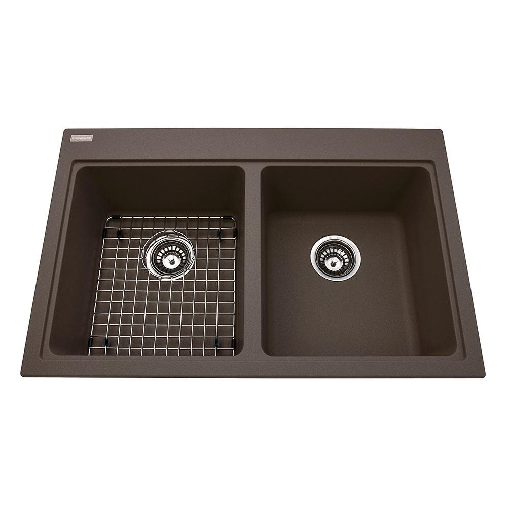 Kindred Canada Drop In Kitchen Sinks item KGDL2031/8/SM