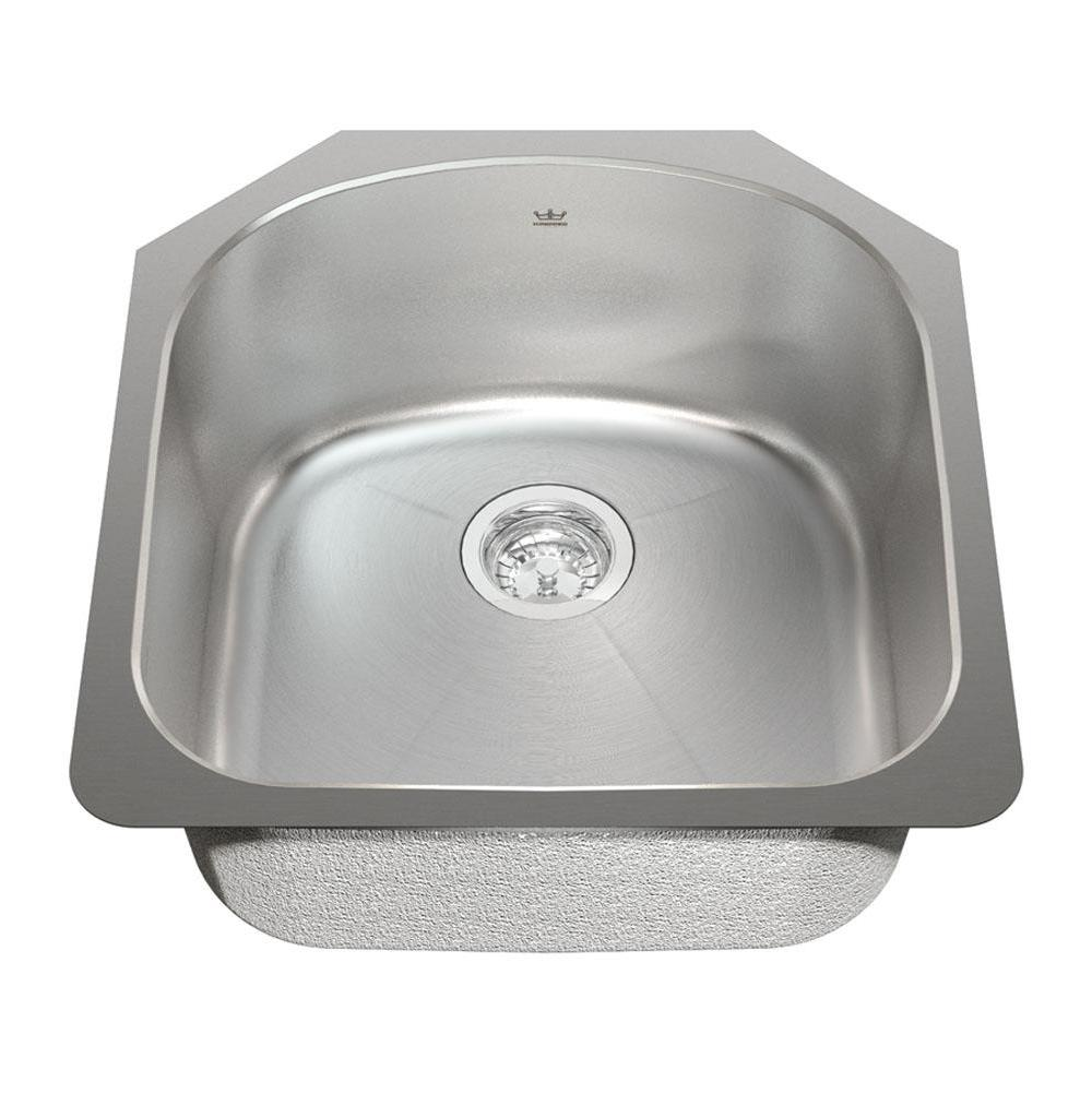 Kindred Canada Undermount Kitchen Sinks item KSS2UA/9D