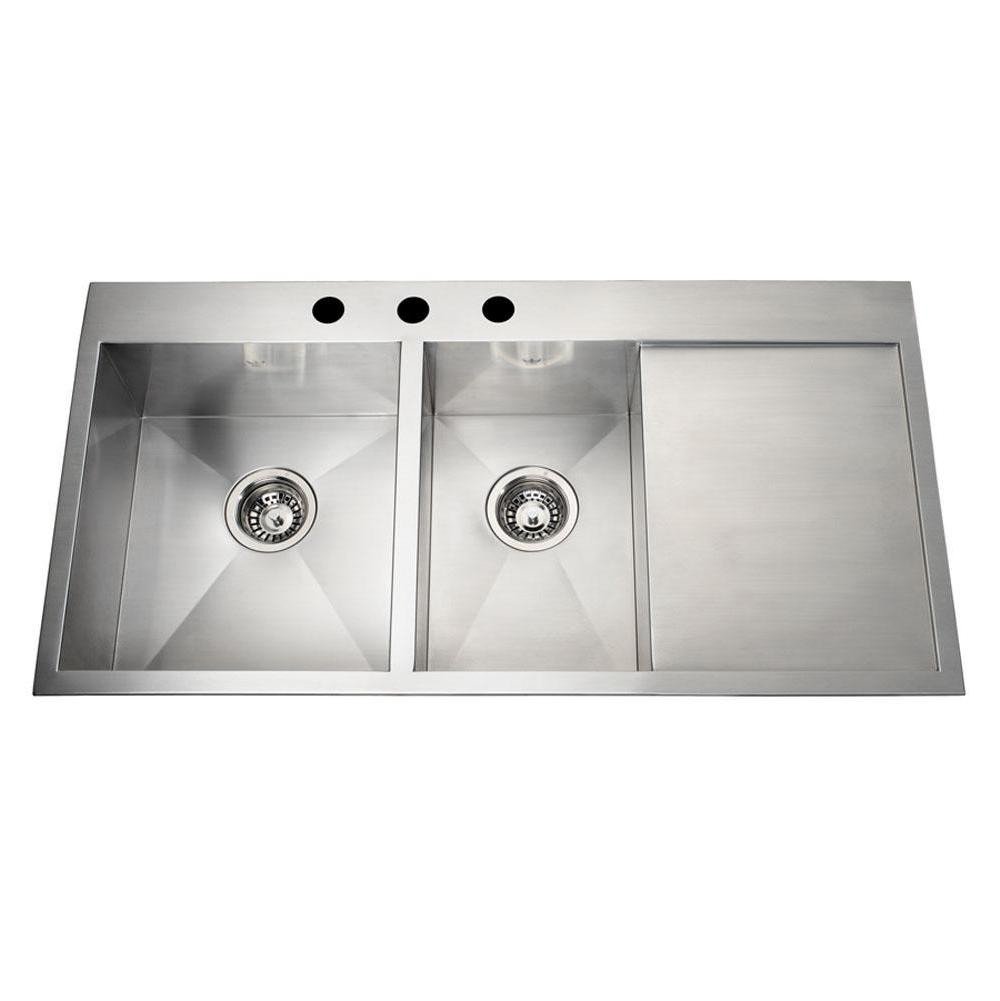 Kindred Canada Drop In Kitchen Sinks item QCMA1826/7/1