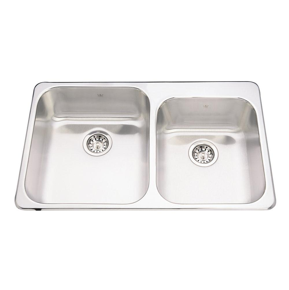 Kindred Canada Drop In Kitchen Sinks item QCM2033/8/1