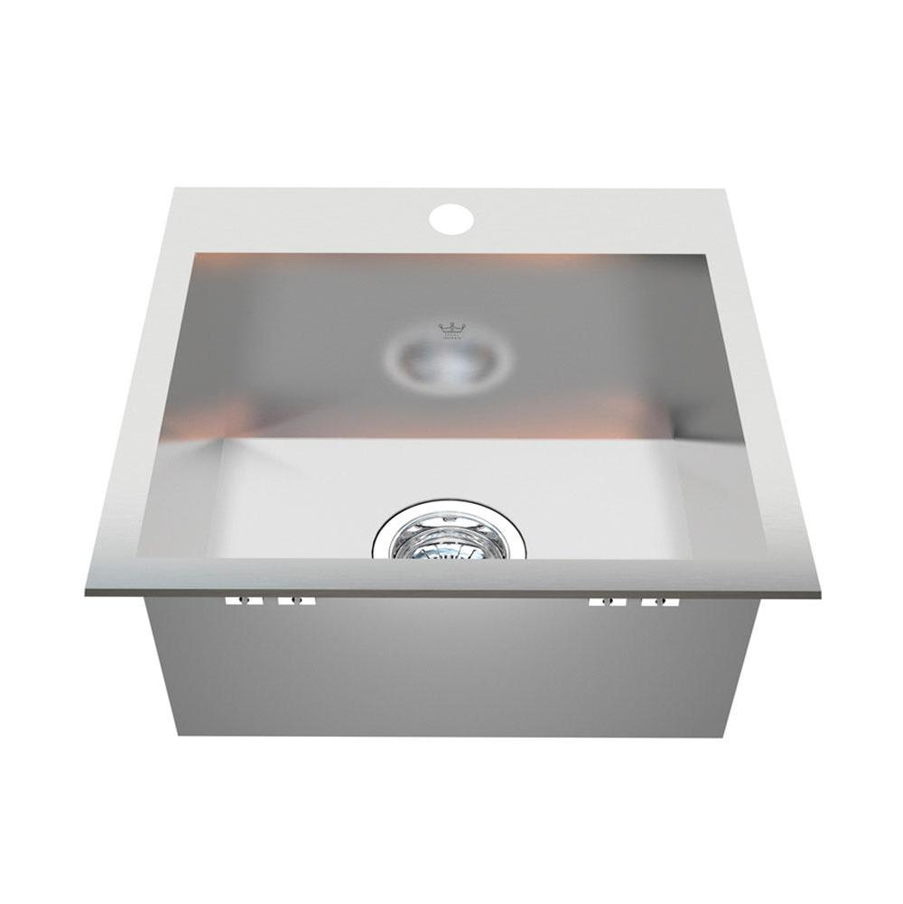 Kindred Canada Drop In Laundry And Utility Sinks item QSLF1717/7-1