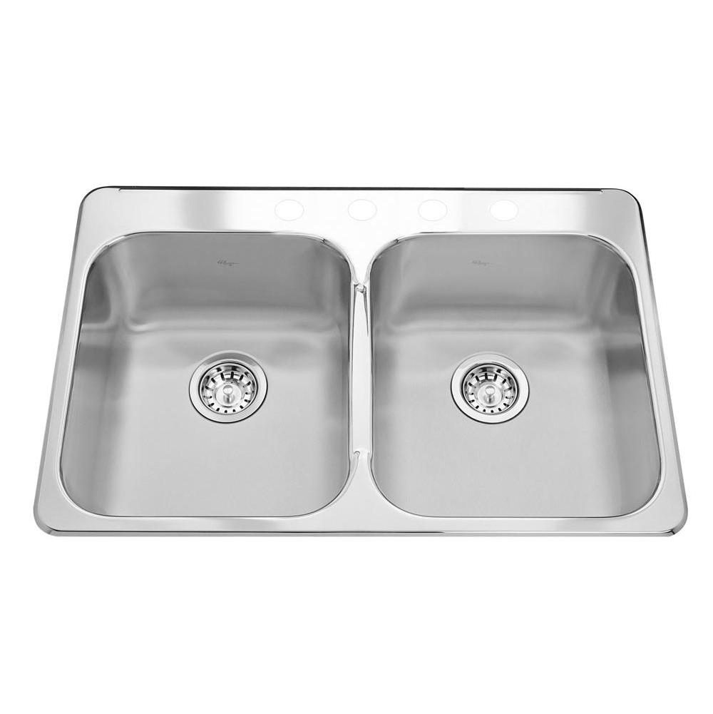 Kindred Canada Drop In Kitchen Sinks item RDL2031/4