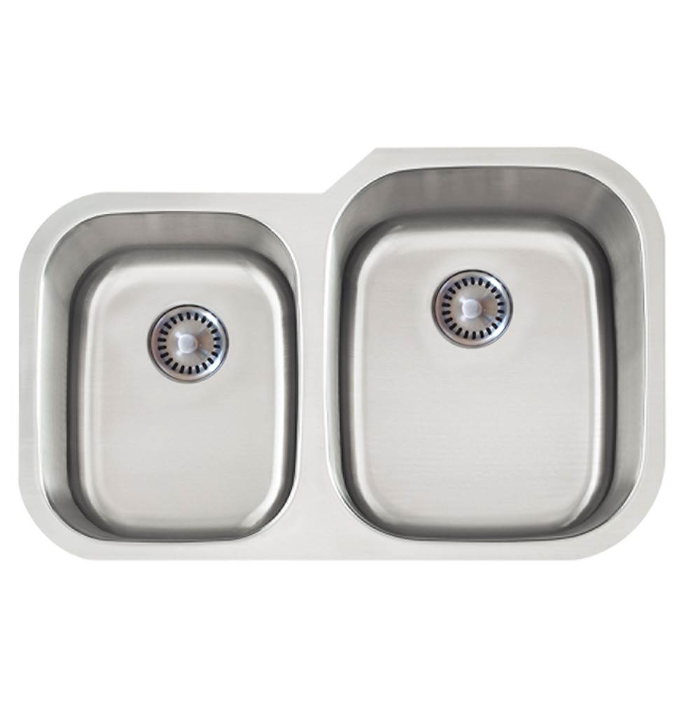 Lenova Canada Undermount Kitchen Sinks item PC-SS-CL-D2R-16