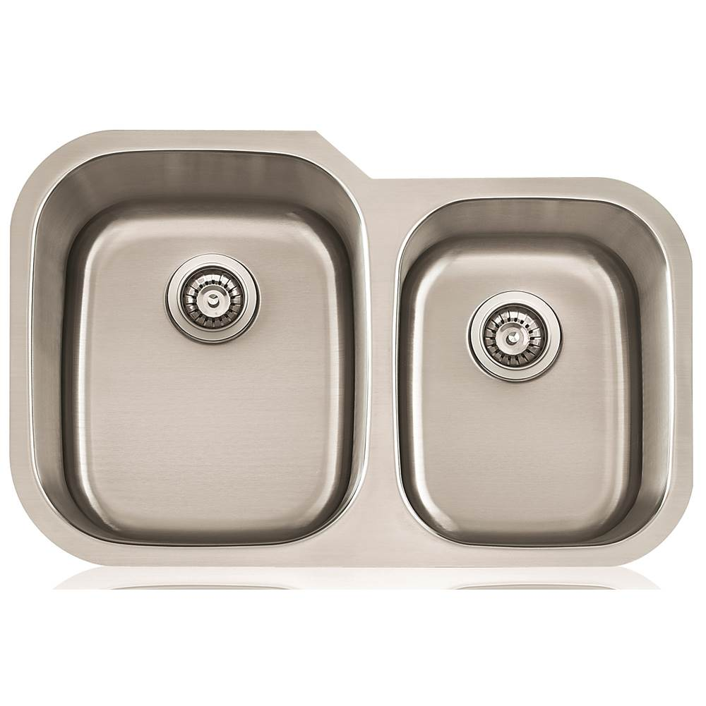 Lenova Canada Undermount Kitchen Sinks item SS-CL-D2L-16
