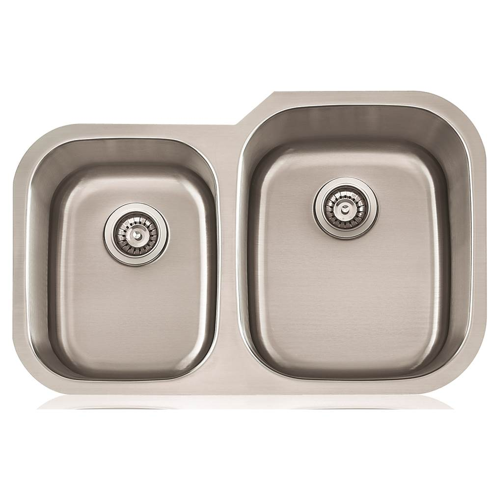 Lenova Canada Undermount Kitchen Sinks item SS-CL-D2R-16