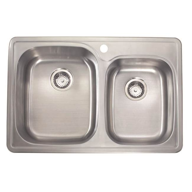 Lenova Canada Drop In Kitchen Sinks item SS-TM-33918-1H