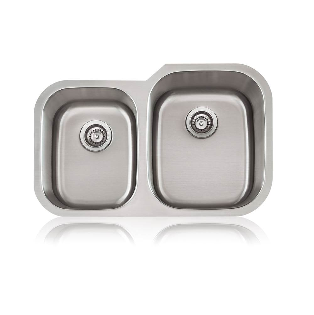 Lenova Canada Undermount Kitchen Sinks item SS-CL-D2R