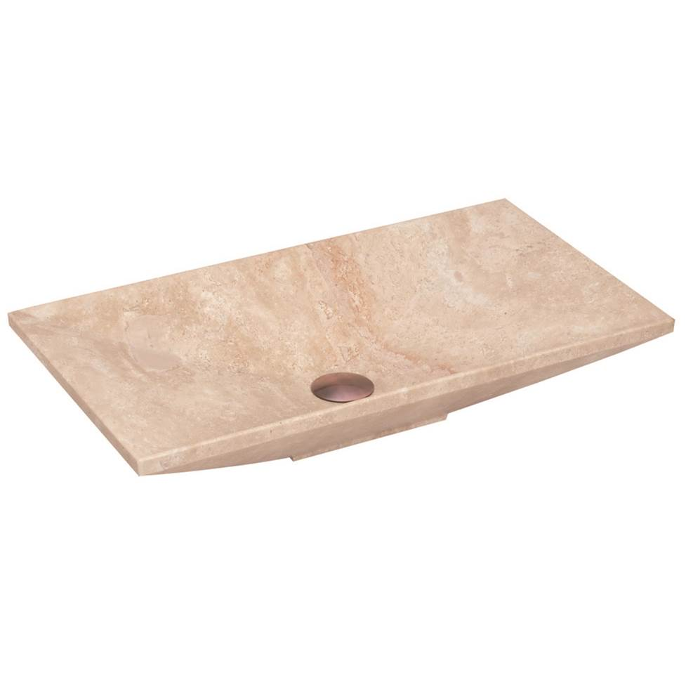 Lenova Canada Vessel Bathroom Sinks item SV-50 Travertine