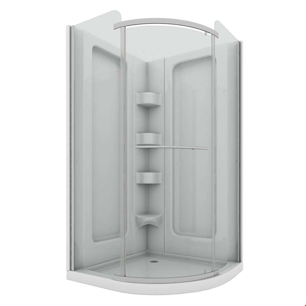Mirolin Canada Corner Shower Enclosures item SCP38RFW1RS