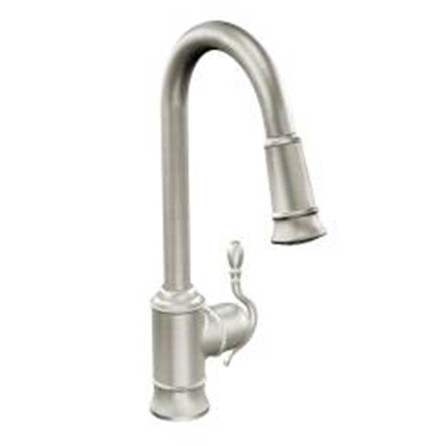 Moen Canada Single Hole Kitchen Faucets item 7615SRS