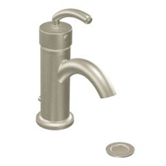 Moen Canada Single Hole Bathroom Sink Faucets item S6500BN