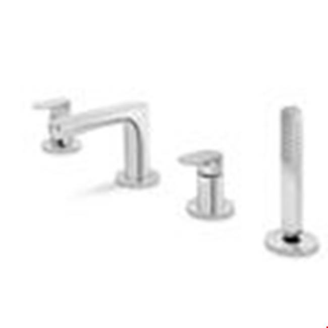 Newform Canada Deck Mount Tub Fillers item 67082C CH