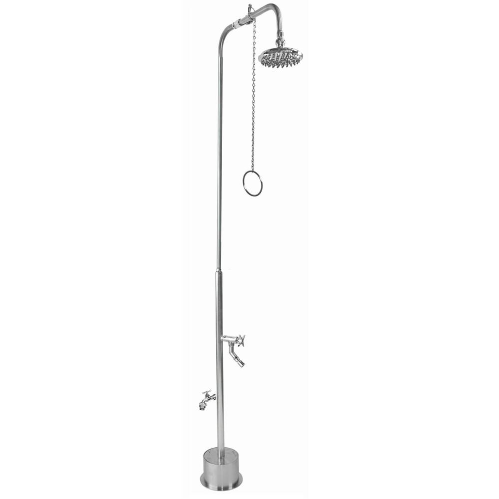 Outdoor Shower  Shower Systems item BS-2000-PCV-CHV