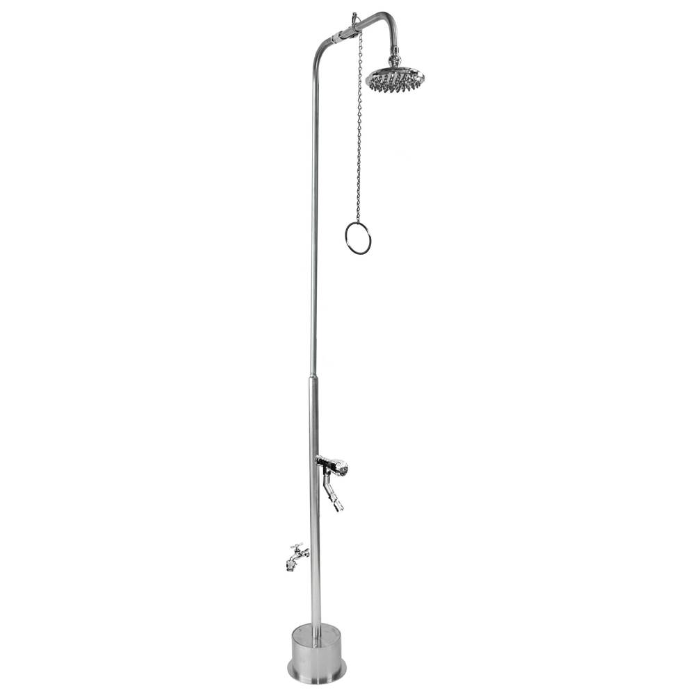 Outdoor Shower  Shower Systems item BS-2000-PCV-ADA