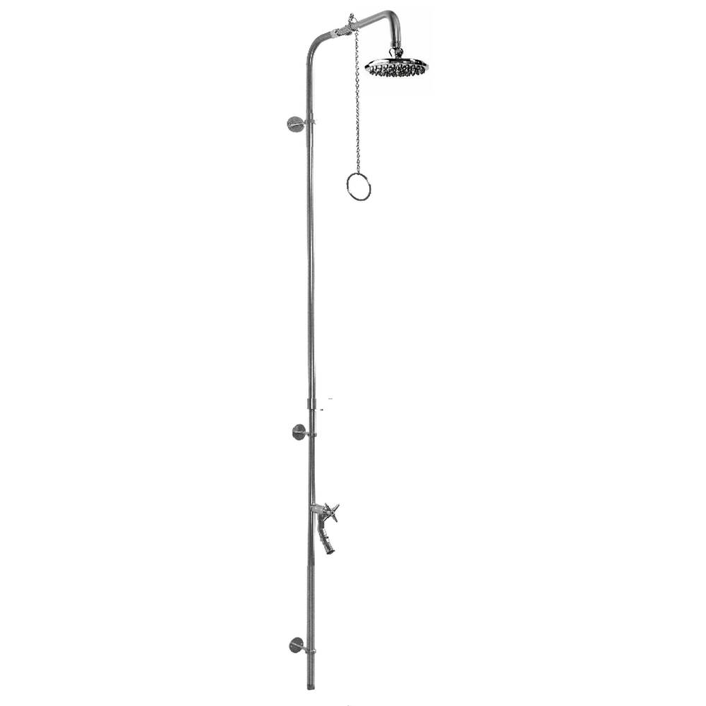 Outdoor Shower  Shower Systems item PM-600-PCV-CHV