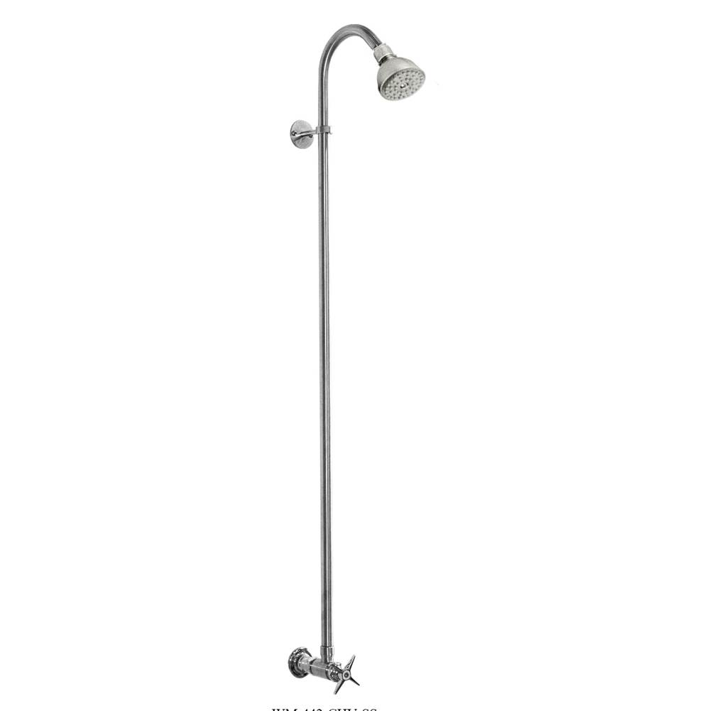 Outdoor Shower  Shower Systems item WM-442-CHV-SS