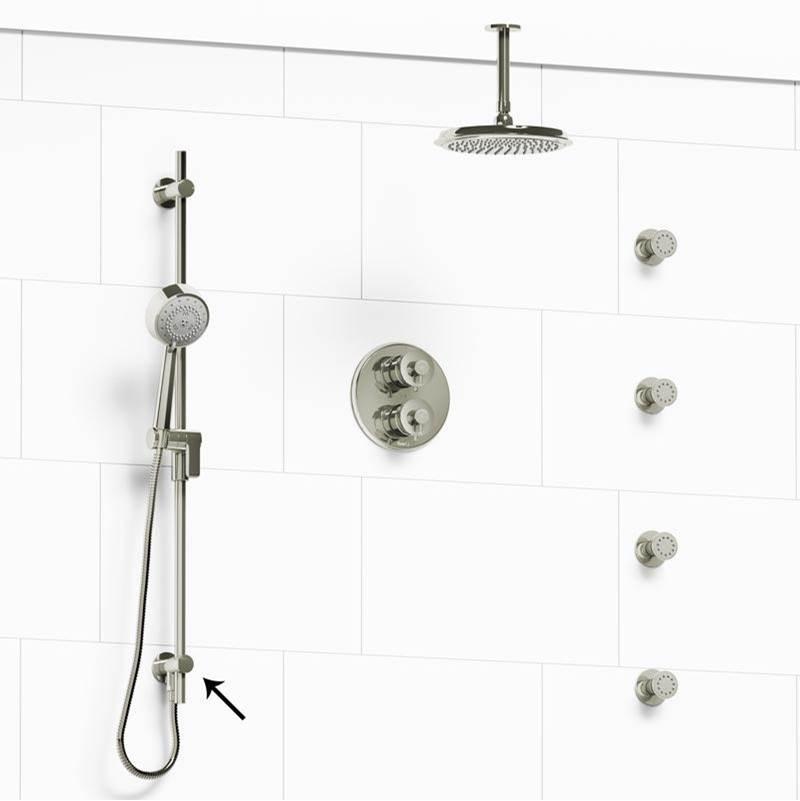 Riobel Complete Systems Shower Systems item KIT#6446ATOPPN-6