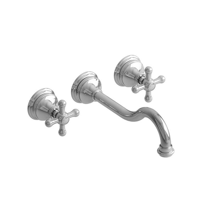 Riobel Wall Mounted Bathroom Sink Faucets item RT03+C-10