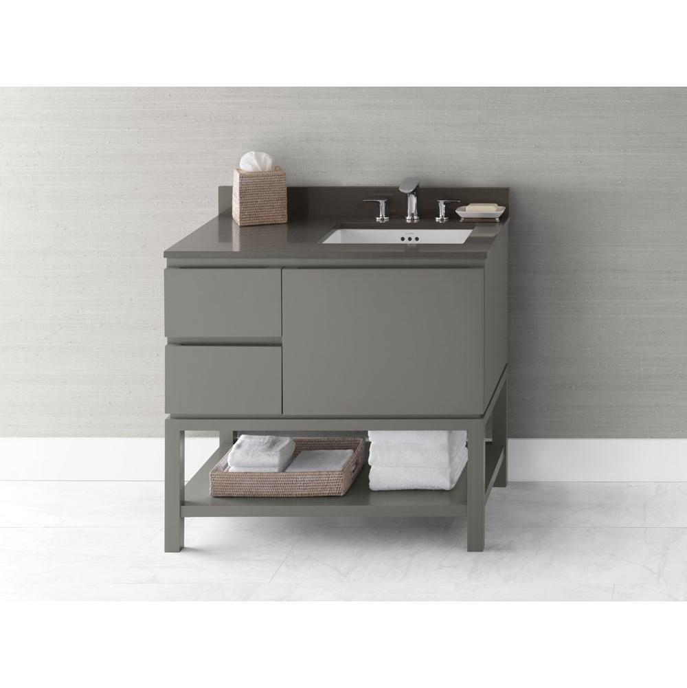 bathroom vanities. Ronbow Floor Mount Vanities Item 036036-R-E01 Bathroom