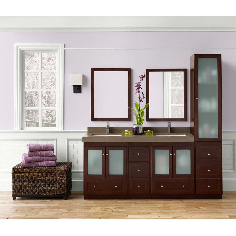 vanities bean bathroom cabinet assemble espresso vanity to cabinets ready