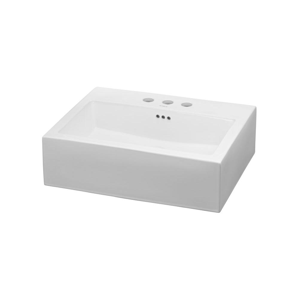 Ronbow Vessel Bathroom Sinks item 200212-8-WH