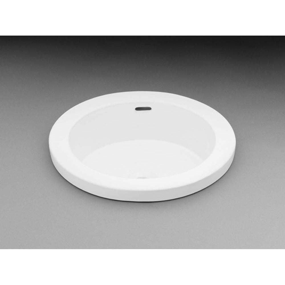 Ronbow Drop In Bathroom Sinks item 200390-WH
