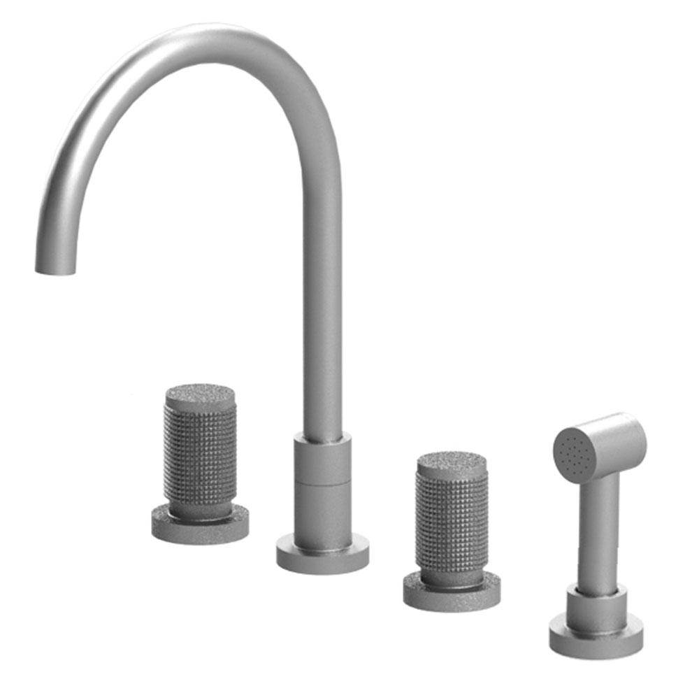 Rubinet Canada Deck Mount Kitchen Faucets item 8BHORSNSN