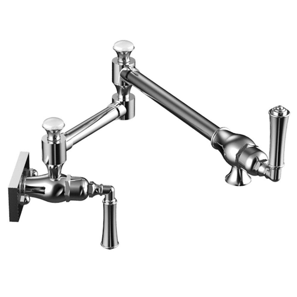 Rubinet Canada Wall Mount Pot Filler Faucets item 8ERVLCHCH