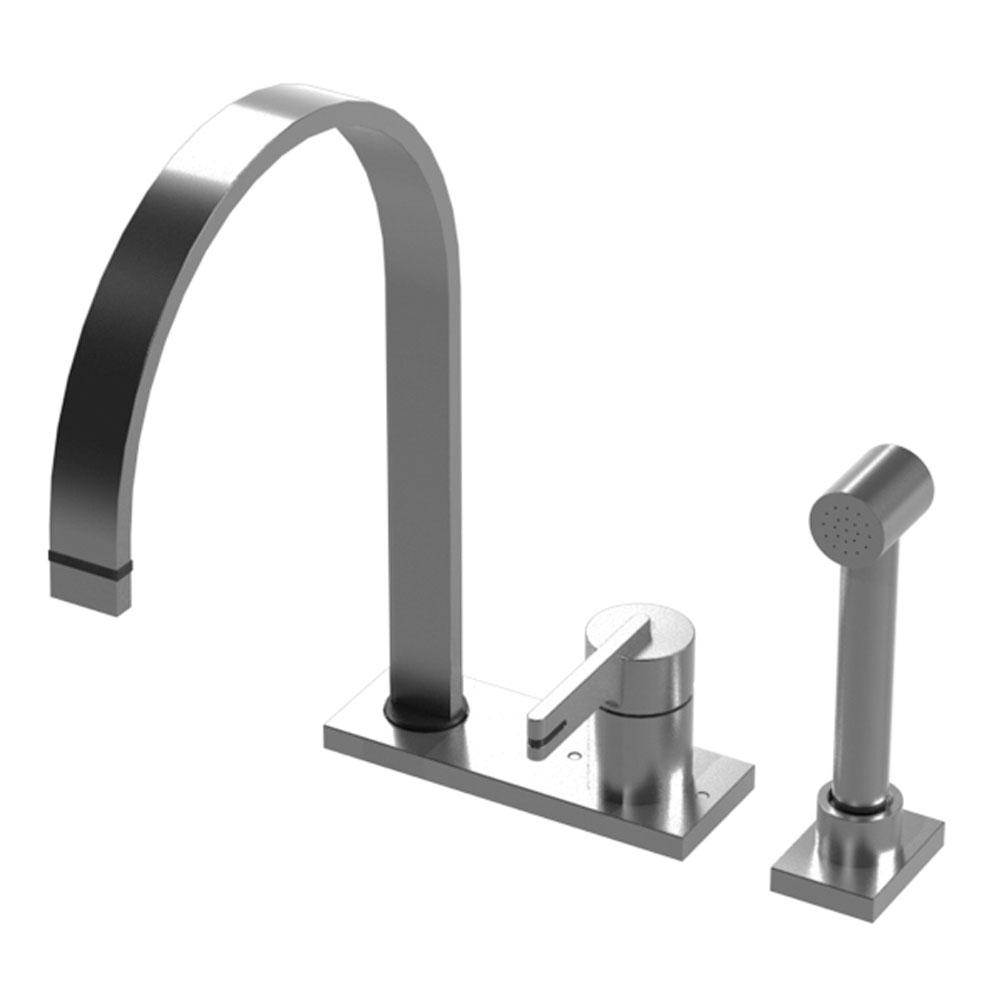 Rubinet Canada Single Hole Kitchen Faucets item 8LRTLOBOB
