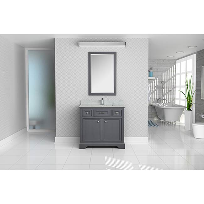 Tidal Bath Canada Vanity Combos With Countertops Vanity Sets item CMDC-378100-AW