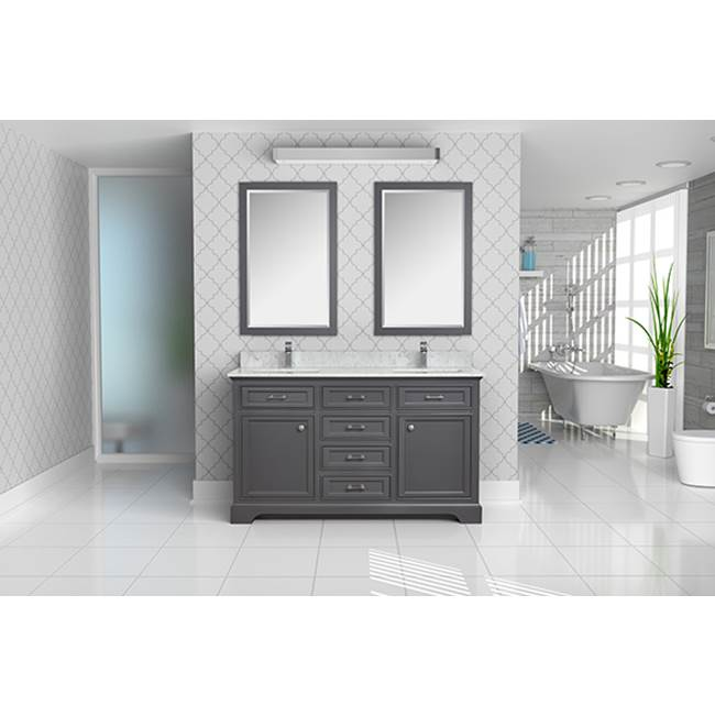 Tidal Bath Canada Vanity Combos With Countertops Vanity Sets item CMDC-618000-AW