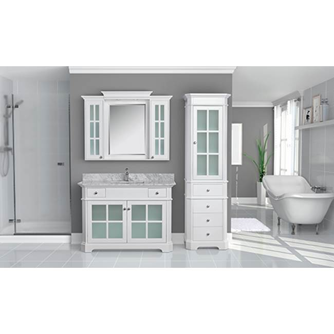 Tidal Bath Canada Vanity Combos With Countertops Vanity Sets item HTGC-483000-AW