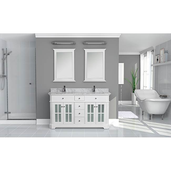 Tidal Bath Canada Vanity Combos With Countertops Vanity Sets item HTGC-603100-AW